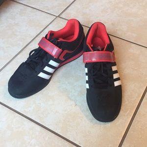 EUC Adidas PowerLift Squat Shoes